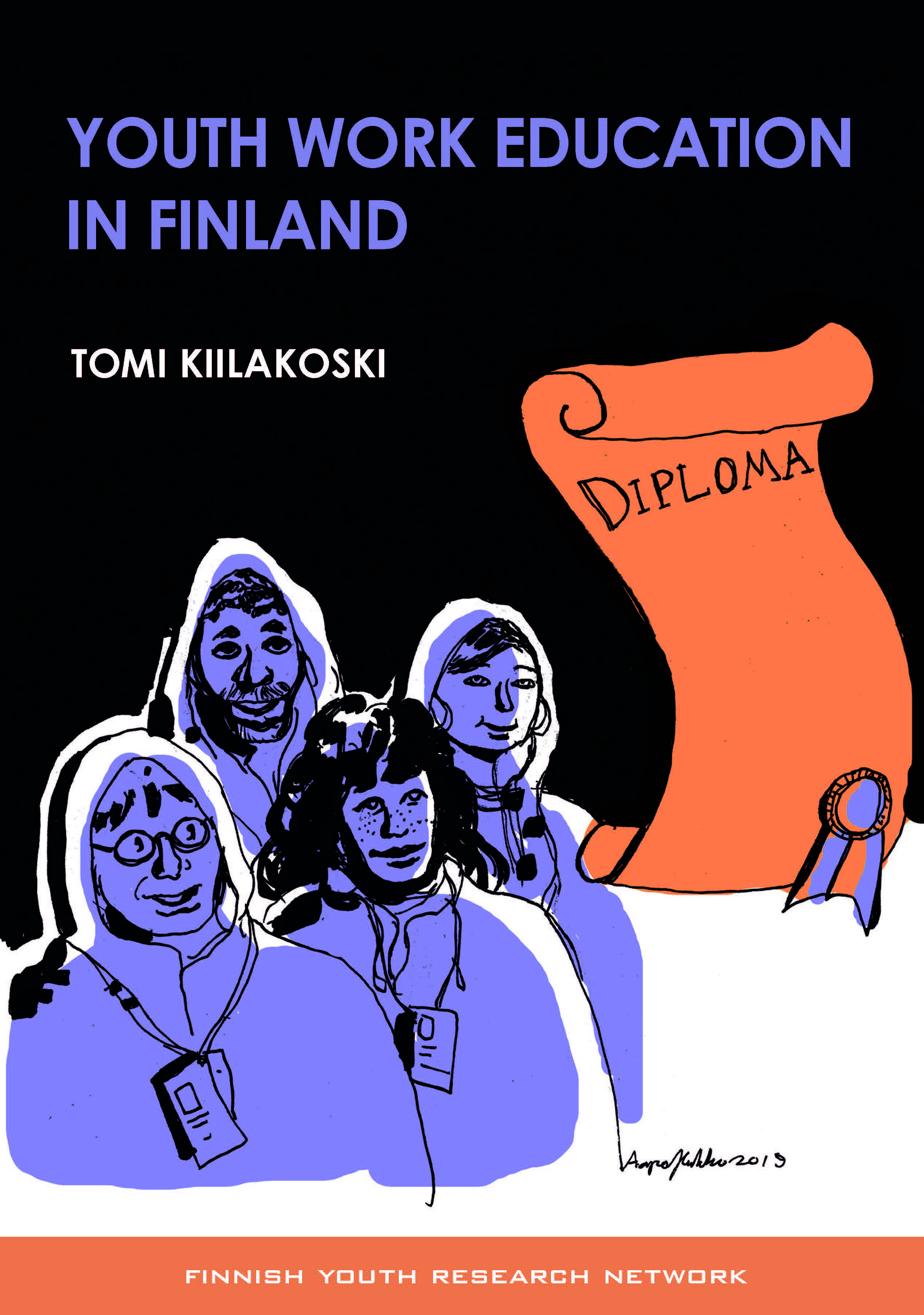 Youth Work Education in Finland cover.
